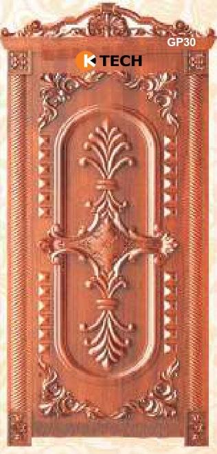 KTECH CNC Golden Panel Doors Design 30