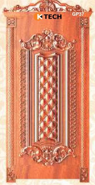 KTECH CNC Golden Panel Doors Design 37