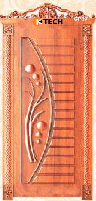 KTECH CNC Golden Panel Doors Design 39