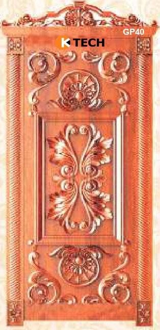 KTECH CNC Golden Panel Doors Design 40