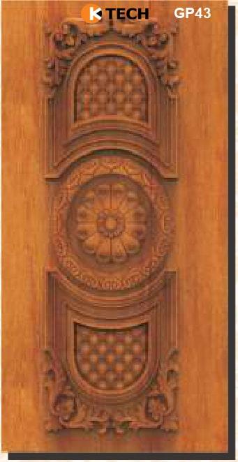 KTECH CNC Golden Panel Doors Design 43