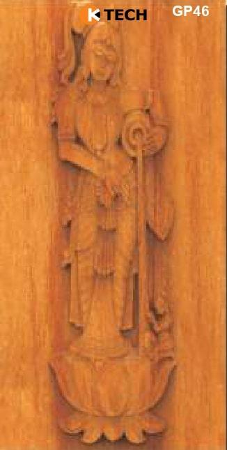 KTECH CNC Golden Panel Doors Design 46